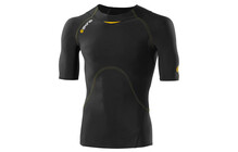 Skins A400 Short Sleeve Top Men's black/yellow
